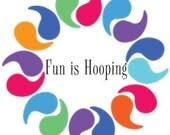 2 Custom Children's Hula Hoops