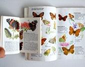 Vintage Butterflies Books, Collins Butterflies and Moths, Spotter's Guide to Butterflies