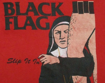 BLACK FLAG 1985 tour T SHIRT