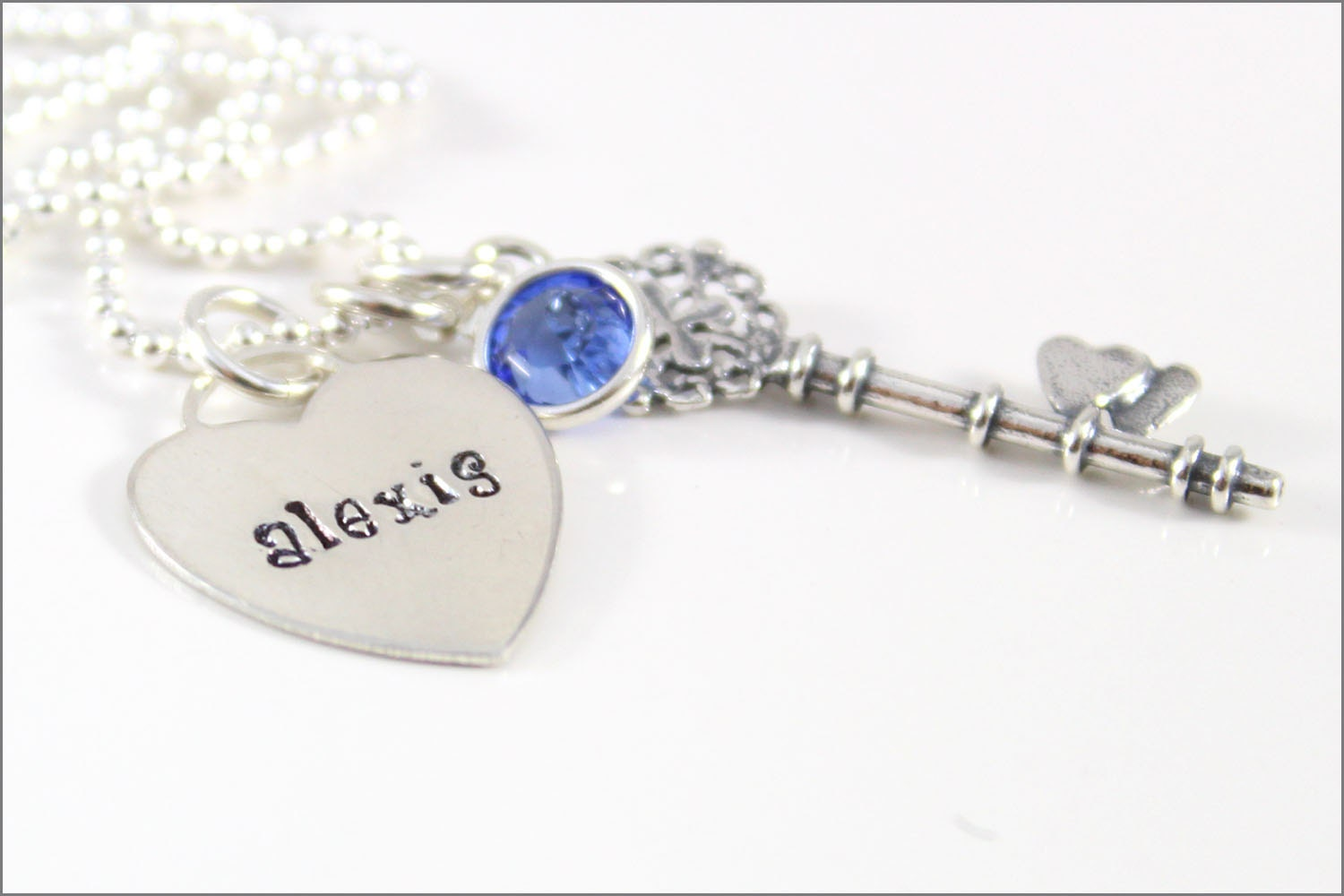 Personalized mommy necklace tiffany heart name pendant for New mom jewelry tiffany