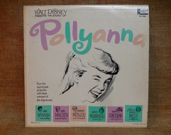 Pollyanna - 1960 Vintage Vinyl Record Album