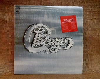 "CHICAGO - Chicago - 1972 Vintage 2 lp Gatefold Vinyl Record Album...Includes Giant 22"" x 33"" Wall Poster"
