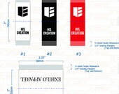 Custom damask woven label JD6.0809.0930v3