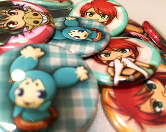 Tales of the Abyss Inspired Buttons