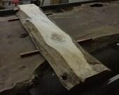 Custom Listing // Wendy LA // Live Edge Blue Stain Pine Console Table // Handmade Steel Trapezoid Legs