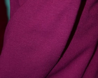 Magenta Cotton Lycra Fabric (yard)