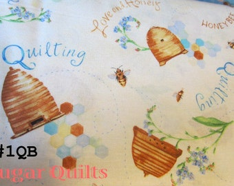 "Quilting Fabric  ""Quilting Bee"" by  Red Rooster Fabric"