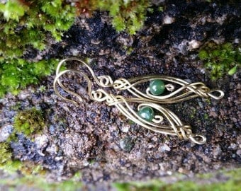 Celtic Long Knot Earrings