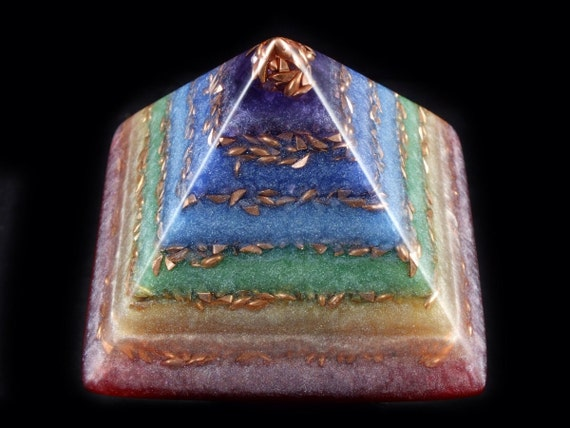 how to use orgonite pyramid
