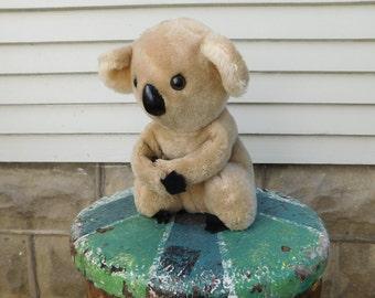 Vintage R. Dakin Koala Stuffed Animal, Koala Hug Doll, 70's Toy