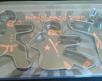Ninja Cookie Cutters Set