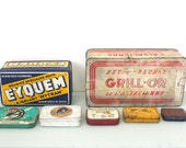 Special Listing for Yuggyp - Vintage French Tin Box