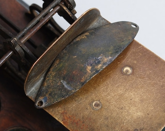 Antique vintage metal spoon bait, plate, pendant, lure