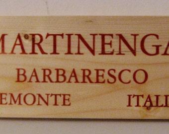 Martinenga Barbaresco Center Piece Candle Holder