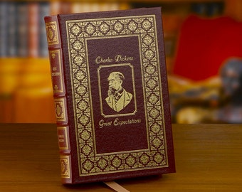 Great Expectations • Charles Dickens • Leather Bound Book • Easton Press