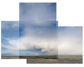 Big Sky, original fine art photography, photocollage