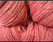 Elsebeth Lavold Silky Wool Yarn Hank Fingering DK Weight Soft Fiber Hank Heather Tweed Blend