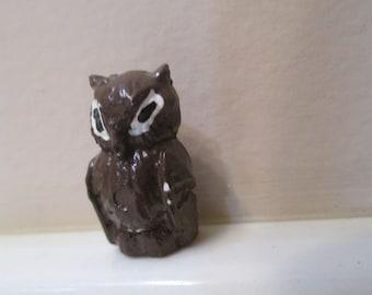 Vintage Miniature Owl