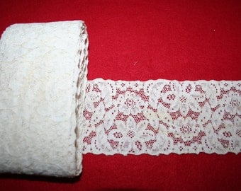 Antique Alencon Lace- Per Yard
