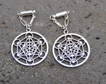 Metatrons cube etsy for Metatron s cube jewelry
