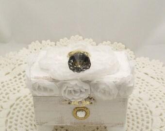 Shabby Chic Ring Jewelry Box