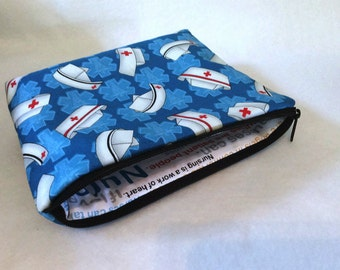 Nurse Cosmetic zipper Bag