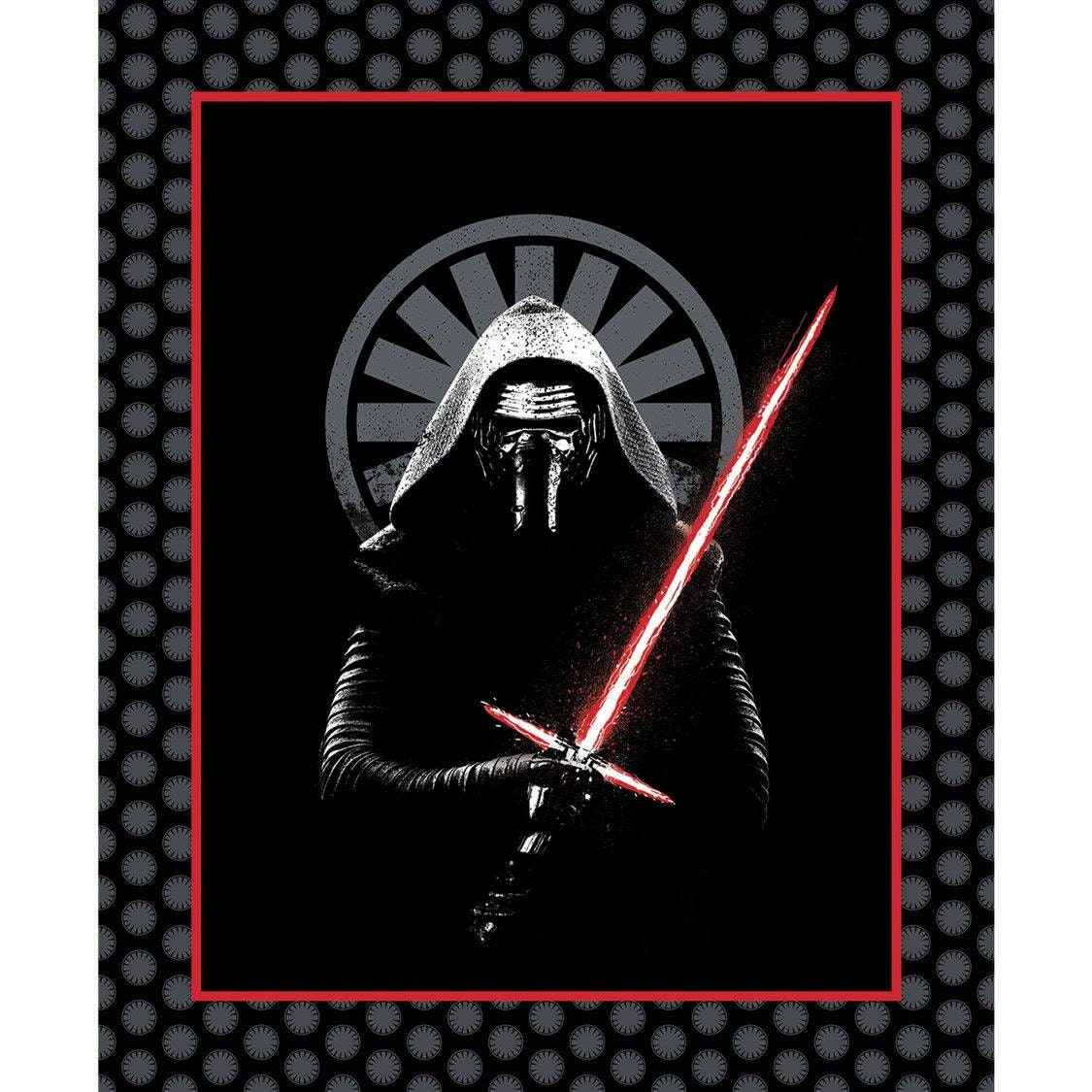 Camelot fabrics kylo ren star wars the force awakens for Star wars fabric