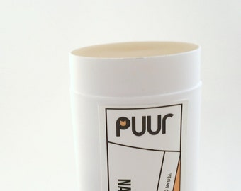Nag Champa Vegan Deodorant - Natural Deodorent with Hemp Butter - Hippie Scent Incense Deodorant Stick Unisex VEGAN Formula with Shea