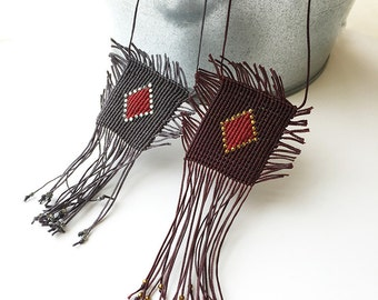 Lucky Amulet makrame - Handmade by Kitty