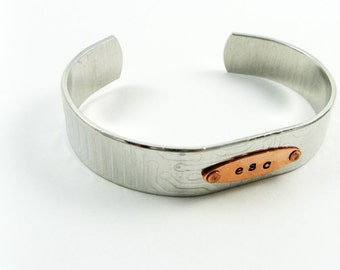 Computer Geek Gift - Circuit Board Jewelry: Adjustable Modern Bracelet with Esc Computer Key Message (Geekery Gift for Tech Nerd)