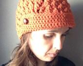 Jane Vintage Brimmed Hat Winter Women Men Crochet