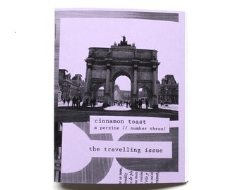 cinnamon toast, a perzine // number three
