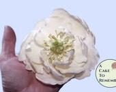 Gumpaste Peony Tutorial for Cake Decorating, gumpaste flowers, gumpaste peony, cake tutorial, flower tutorial