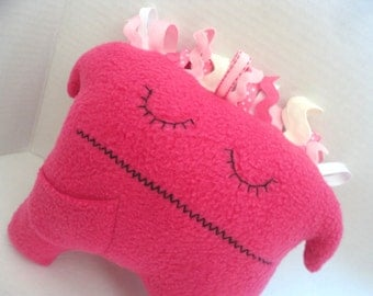 Losing A Tooth Doesn't Have To Be Scary, Monster Tooth Pillow