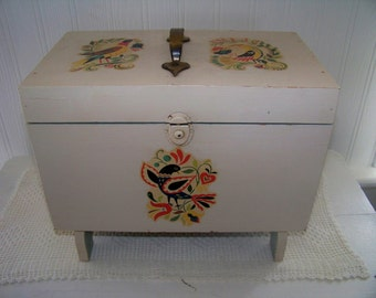 Vintage Box Hand Made Art Deco Keepsake Box