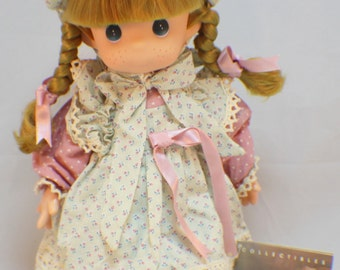 Vintage Collectible September Precious Moments 14 Inch Doll, 'Annie',