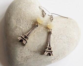 Earrings Eiffel Tower