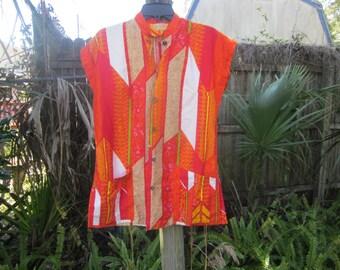 hawaiian shirt vintage , made for waikiki shop pompono beach florida