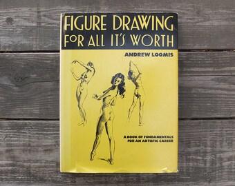 Vintage 1982 Fashion Drawing Book
