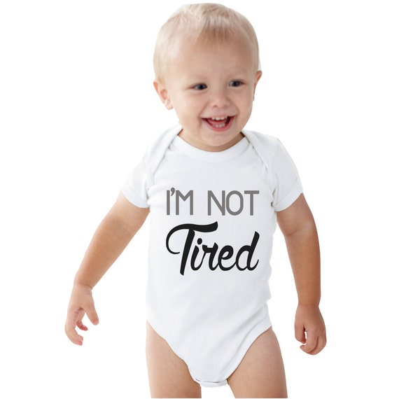 I'm SO Tired I'm NOT Tired Mommy And Me Shirt By