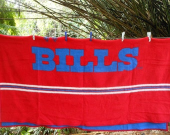 BUFFALO BILLS Biederlack Plush Blanket