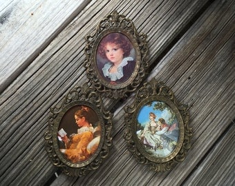 Ornate Wall Hanging Victorian Art Frames MADE IN ITALY