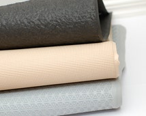 Slipper soles light rubber sheet for handmade slippers and shoes - Soling rubber sheet gray black beige