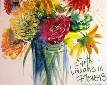 Earth Laughs in Flowers