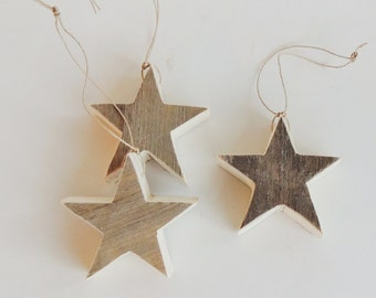 Rustic Star Christmas Ornament, Rustic Wood Star, Barn Wood Star, Rustic Christmas Ornament, Reclaimed Wood Ornament, Wood Star Ornament