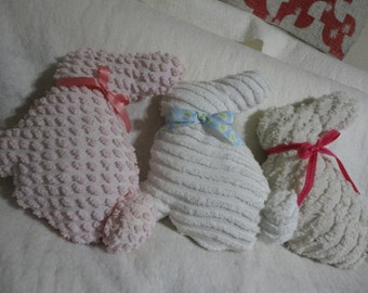 Chenille Easter Bunny or for new baby