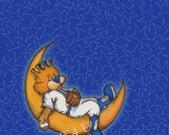 Baby Slugger on the Moon!