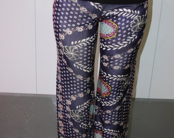 Silk Jersey Lounge Pants, Resort pants, beach boho pants