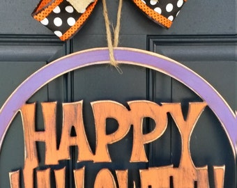 Halloween door decor, Fall door decor, door decor