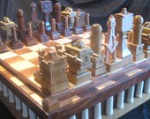 The Masonic Chess Set by Jim Arnold